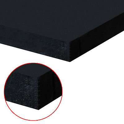 Plain Neoprene / EPDM Sponge / Foam  BLACK Rubber Sheet 1.5 mm to 25 mm Thick