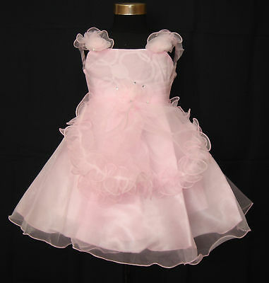 New Flower Girl Party Pageant Christening Dress