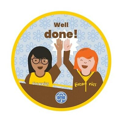 Brownie Well Done Cloth Badge Brownies Uniform New