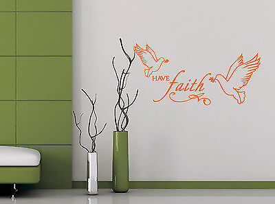 Have Faith-Quote-Vinyl-Decal-Art-Wall-Stickers-Home-Room-Decor