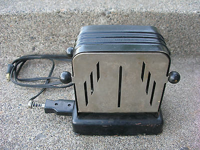 Vintage/Antique Electrex Toaster Swing Door Nice Working!