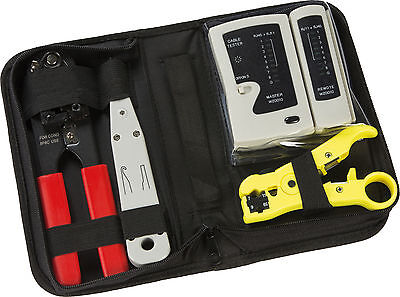 Structured Wiring Data and Network Installation Tool Kit- Brand New