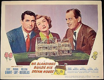 Cut 50$$!! Mr. Blandings Builds His Dream House '48 Lc #6 Grant & Loy &