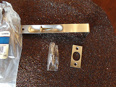 Gate House Flush Bolt Satin Nickel Finish with Free shipping USA Seller