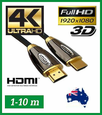 4K Ultra HD 3D Premium HDMI Cable - High Speed with Ethernet - 2.0 - Mixed