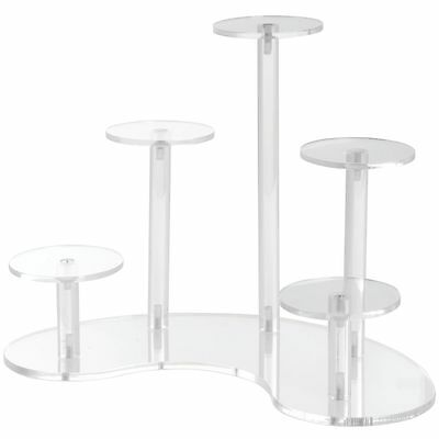 5-Pedestal Acrylic Display Stands, 60764