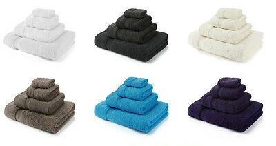 750 GSM Hotel Quality 100% Egyptian Cotton Towels Face Cloth Bath Sheets Luxury