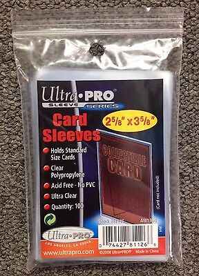 "Ultra Pro 2 5/8"" x 3 5/8"" Penny Sleeves - Pack of 100"