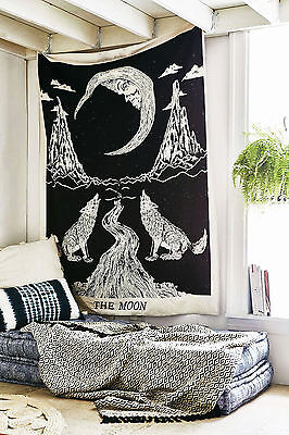 Mandala Wall Hanging Tapestry Indian Bohemian Hippie Twin Bedspread Throw Decor