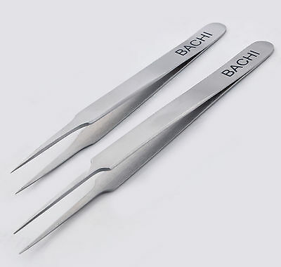 Bachi Professional Needle Nose Tweezers