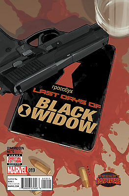 Black Widow #19 (2015) Marvel Comics