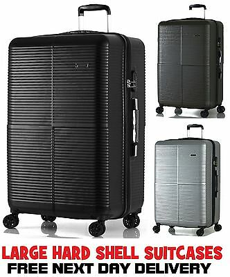 4 Wheels Super Lightweight Expandable Hard Shell Trolley Cases Suitcase luggage