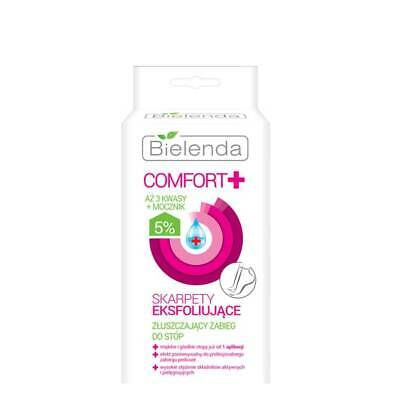 Bielenda Comfort Exfoliating Treatment Socks Nourishing Refresh Regeneration