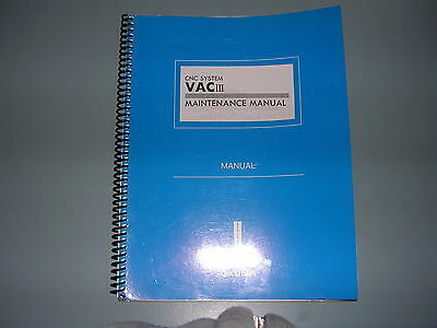 Okuma CNC  VACIII  Maintenance Manual