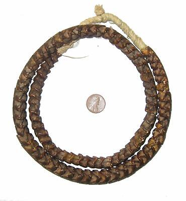 African Real Snake Vertebrae Beads from Africa (Large)  Nigeria