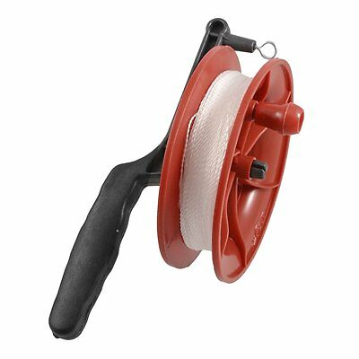 100M Twisted String Line Red Wheel Kite Reel Winder