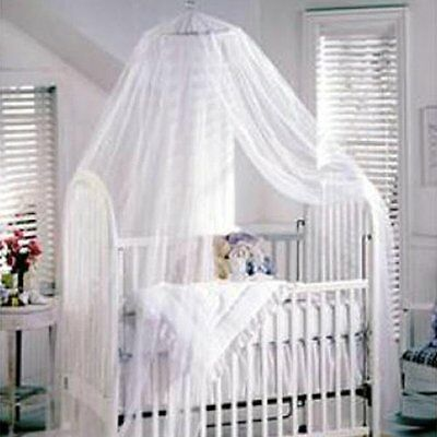 Cute Baby Summer Mosquito Net Netting Canopy For Nursery Crib Bed Cot Canopy
