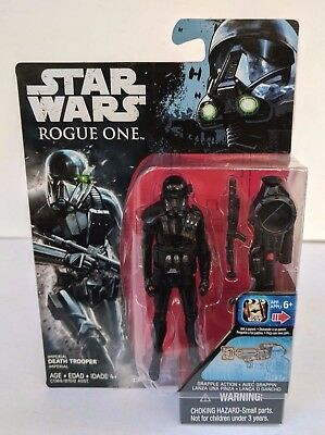 """Hasbro Star Wars Rogue One IMPERIAL DEATH TROOPER 3.75"""" Figure New In Stock MIB"""