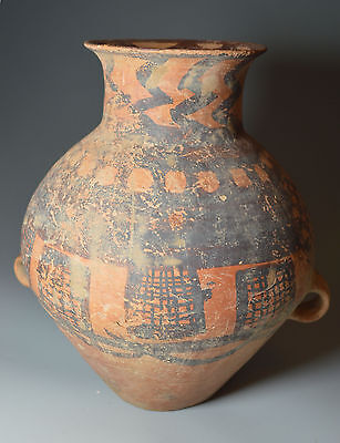 Ancient Chinese terracotta Vessel Neolithic period   China 中国古董