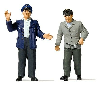 Preiser 44918 G Figurines 1:22,5 Train drivers and Heaters