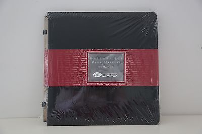 Creative Memories Black Masterpiece Coverset Original 12x12 Scrapbook Album RARE