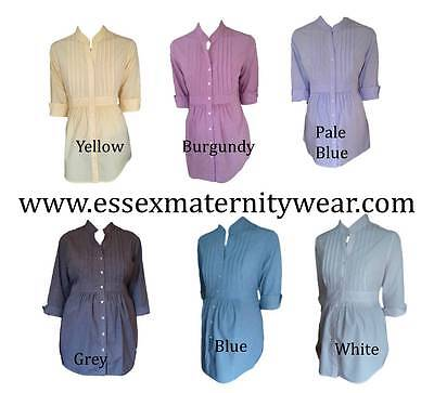 BNWT Maternity Shirt / Blouse Size 10 - 22 8 different colours