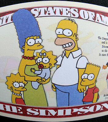 Simpsons FREE SHIPPING! Million-dollar novelty bills
