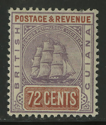 British Guiana  1899-1903  Scott # 146  Mint Lightly Hinged