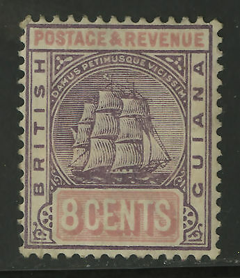 British Guiana  1899-1903  Scott # 139  Mint Hinged