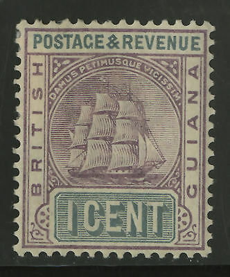British Guiana  1899-1903  Scott # 130  Mint Hinged
