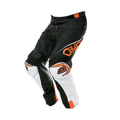 Pantaloni cross enduro downhill O'NEAL MAHYEM LITE BLOCKER BLACK/ORANGE