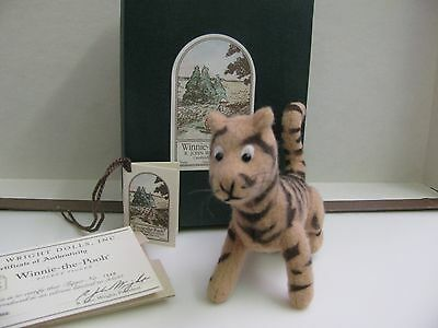 "R. John Wright   Winnie -The - Pooh  POCKET SERIES  "" TIGER "" Fully Jointed"