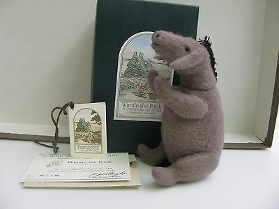 "R. John Wright   Winnie -The - Pooh  POCKET SERIES  "" Eeyore "" Fully Jointed"