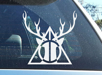 Harry Potter Deer Deathly Hallows Expecto Patronum Vinyl Decal