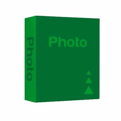 Basic Green 7.5x5 Slip In Photo Album - 300 Photos