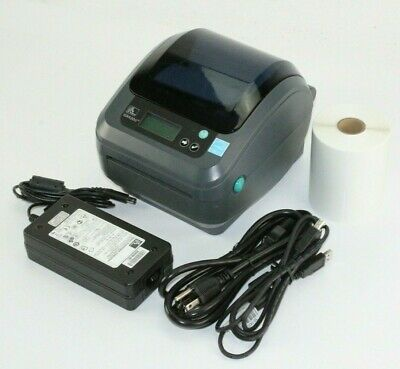 Zebra ZP450 Thermal Label Printer Barcode USB & Serial W/ 250 Shipping Labels