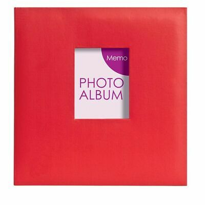 Festival Red 6x4 Slip In Photo Album - 200 Photos