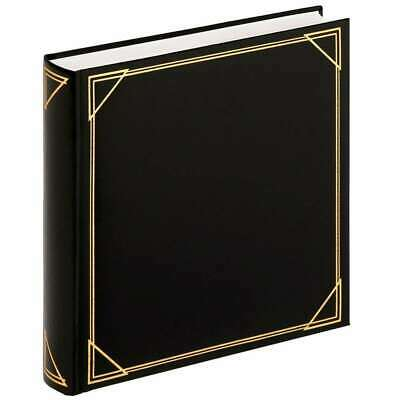 Walther Standard Black Traditional Photo Album - 100 Sides
