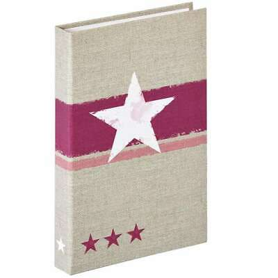 Walther Stellar Red 6x4.5 Flip Photo Album - 80 Photos