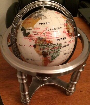 Globe Of The World & Compass Small