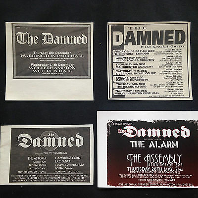 The Damned # Various Original Clipping Pack # Ref 16