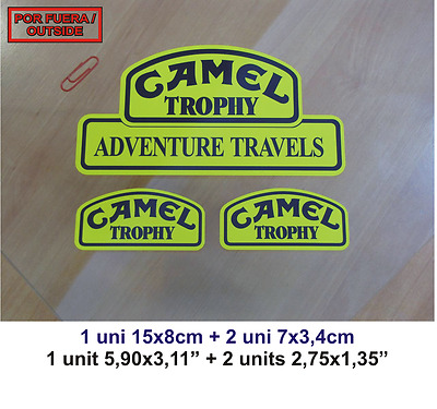 Sticker Adhesivo Pegatina Decal Vinilo Autocollant Aufkleber   4X4 Camel Trophy