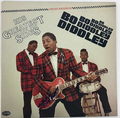 Bo Diddley Signed Autographed Greatest Hits Album PSA/DNA Authentic