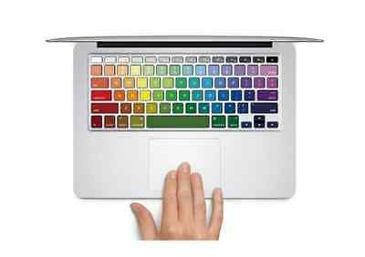 Colorful Macbook Keyboard Decal Sticker Skin for Pro 13 15 17