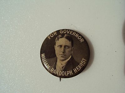 William Hearst / New York Governor Pin