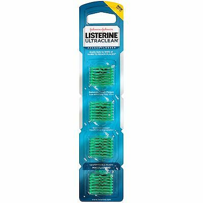 Listerine UltraClean Access Flosser Refill Heads, Mint, 28 Count