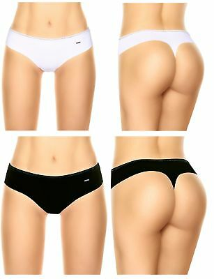 Laura Women s Classic Cheeky Thong Lace Trim White Black S M L XL High  Quality 0c82ef4c0