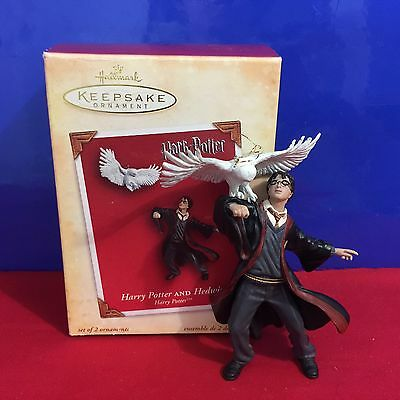Hallmark Ornament Harry Potter and Hedwig 2004