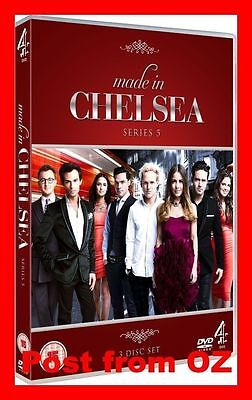 Made In Chelsea: Complete Season 5 - Brand New DVD - UK TV Series Five Fifth
