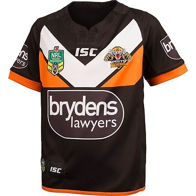 Wests Tigers 2016 NRL Home Jersey Adults & Toddler 'Select Size' BNWT